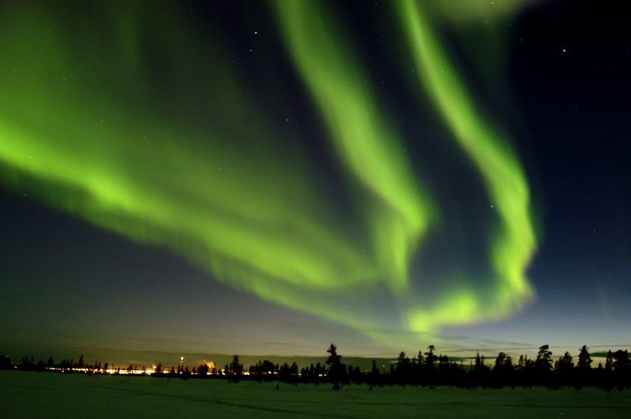 northern lights sweden 1212