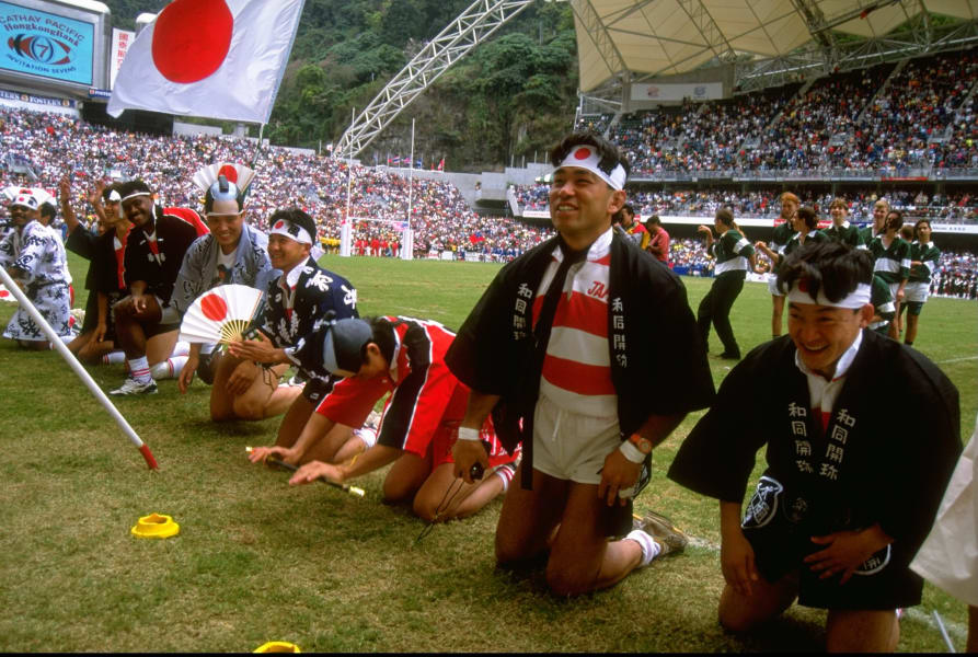 japanese costumes rugby sevens