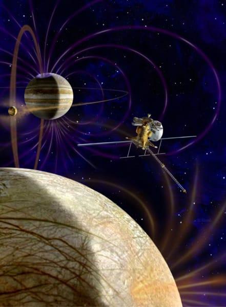 Jupiter moon water NASA mission