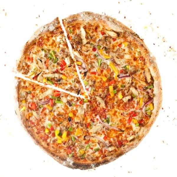 Naked Pizza Ragin Cajun