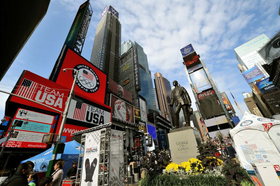 2. Instagram Times Square