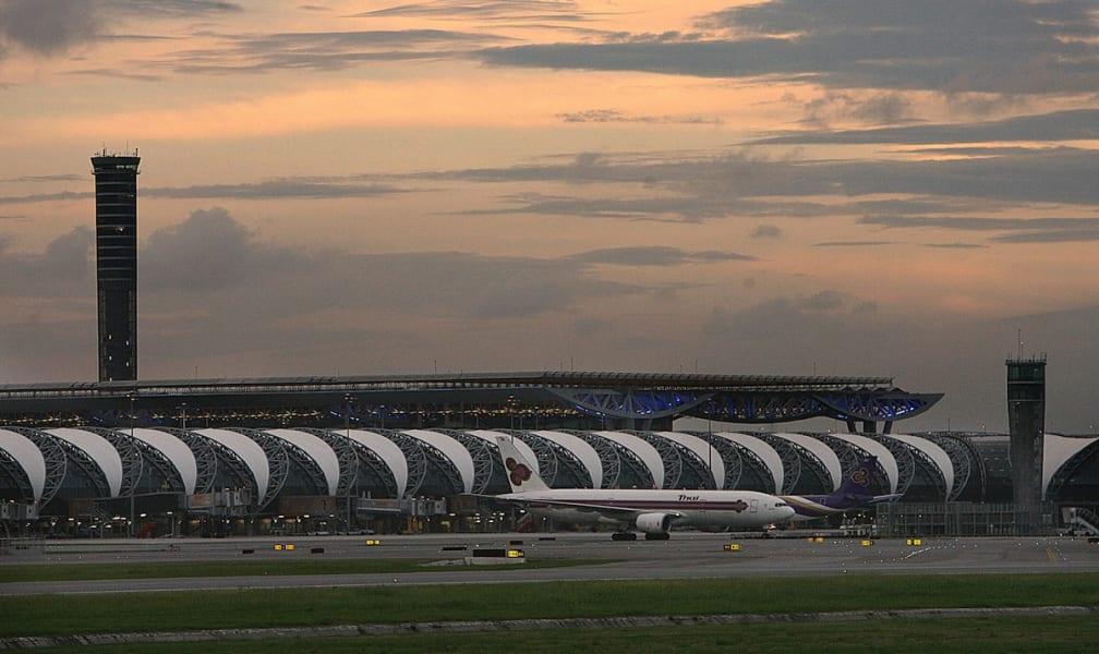 9. Instagram Bangkok suvarnabhumi airport