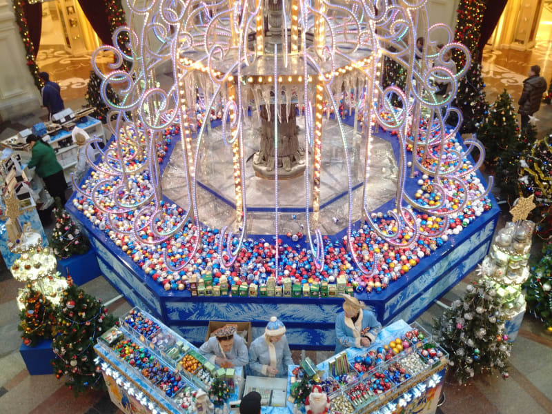 irprt christmas fountain moscow