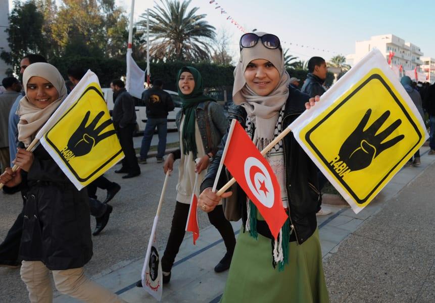 Tunisia uprising anniversary 3