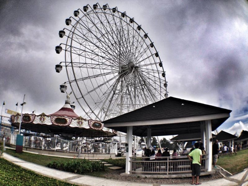 most searched destinations - sky ranch tagaytay
