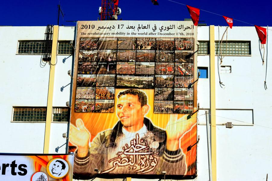 Tunisia uprising anniversary 8