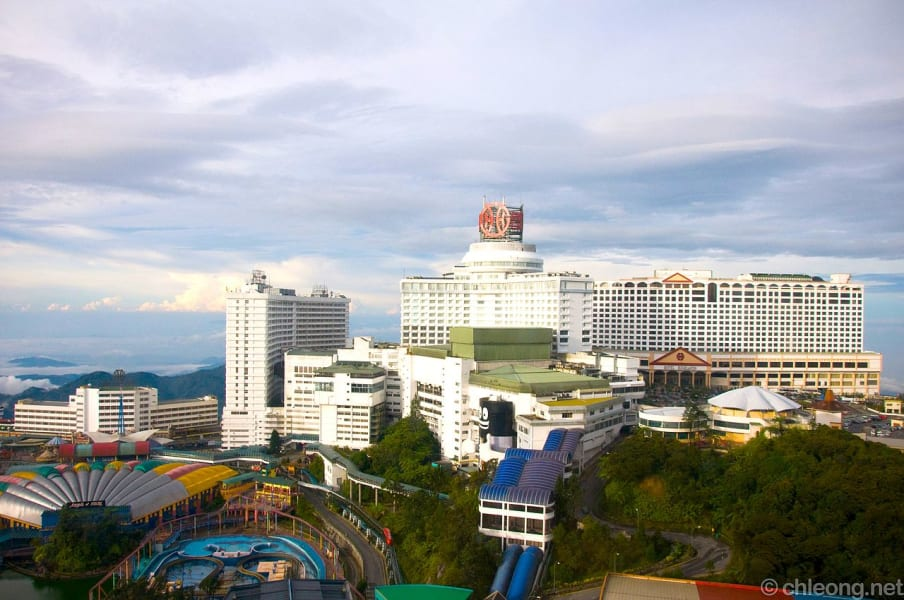 most searched destinations - genting highlands malaysia