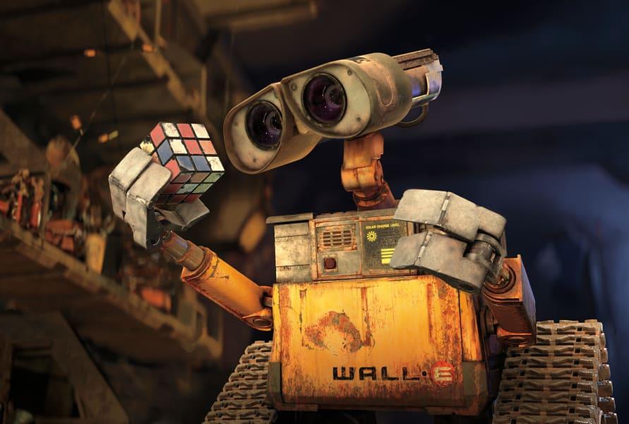 10 robots wall-e
