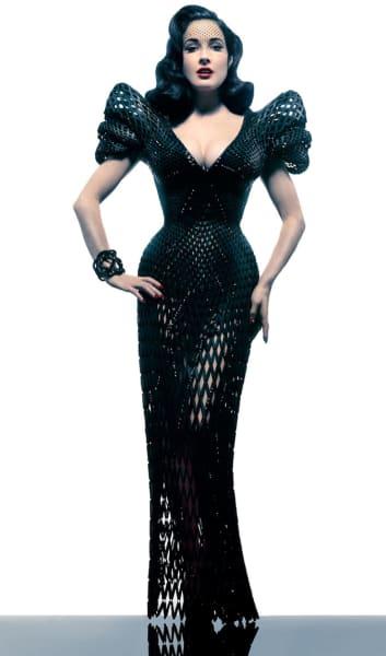 Dita von Teese 3D dress Shapeways