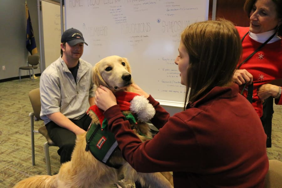 Emory therapy dog 4