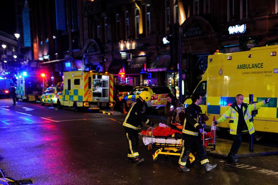 11 london theater collapse