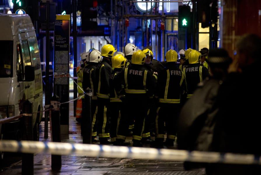 15 london theater collapse
