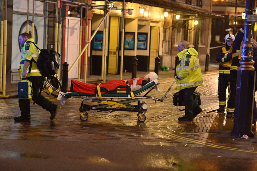 23 london theater collapse RESTRICTED
