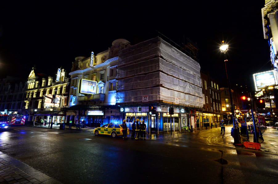 26 london theater collapse