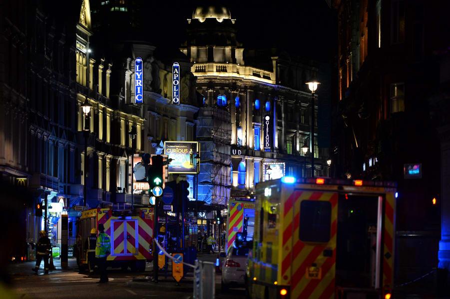 27 london theater collapse