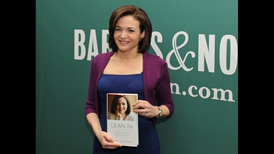 sheryl sandberg lean in RESTRICTED