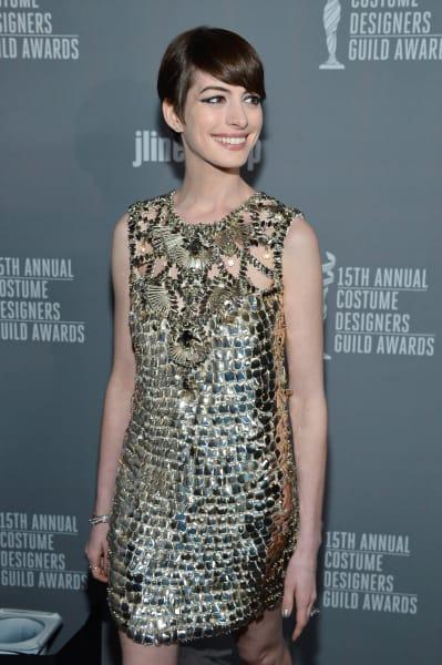 Anne Hathaway February 2013