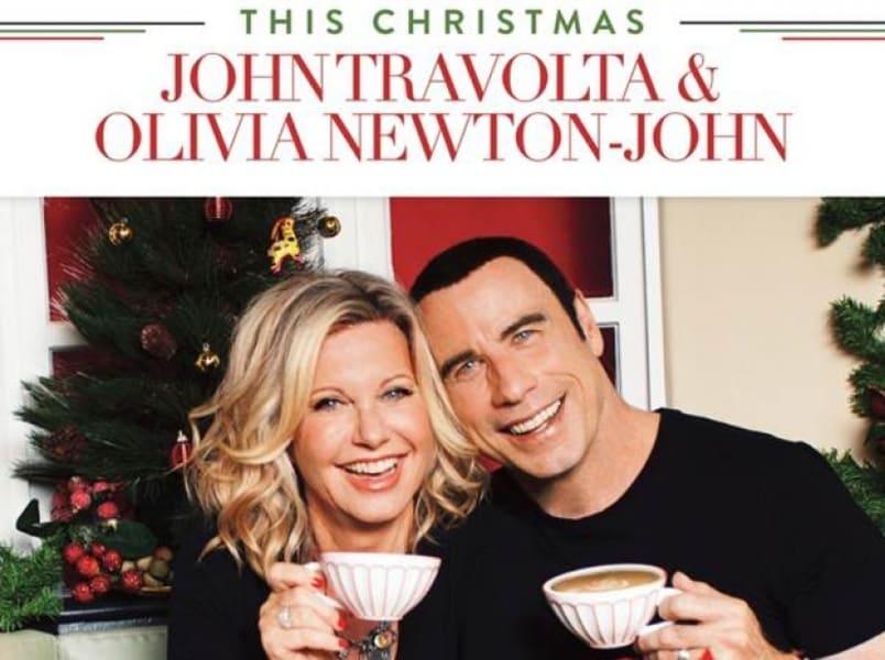 """John Travolta & Olivia Newton-John """"This Christmas"""":"""