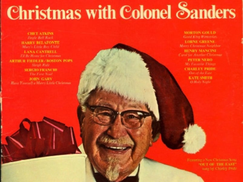 'Christmas with Colonel Sanders'