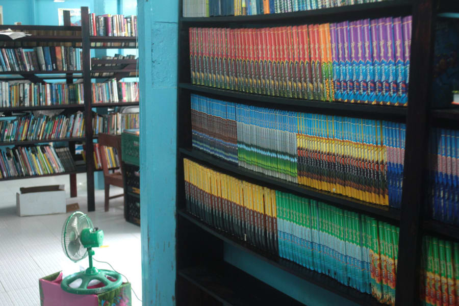 IYW Books for Guyana 1