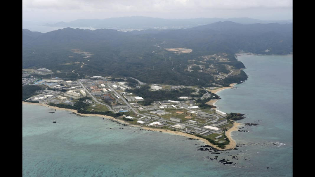 09 futenma air station RESTRICTED