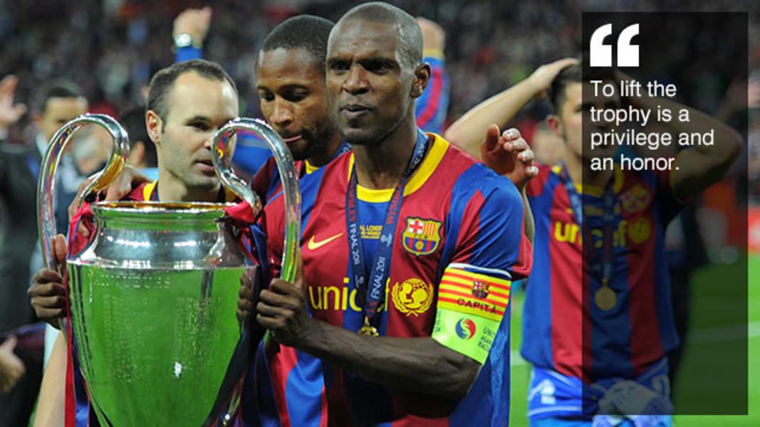 Abidal trophy