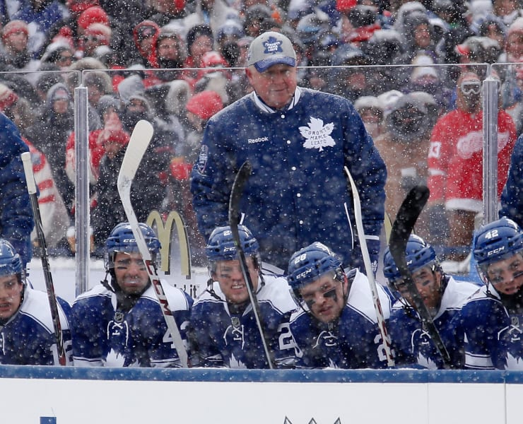 Winter Classic Randy Carlyle