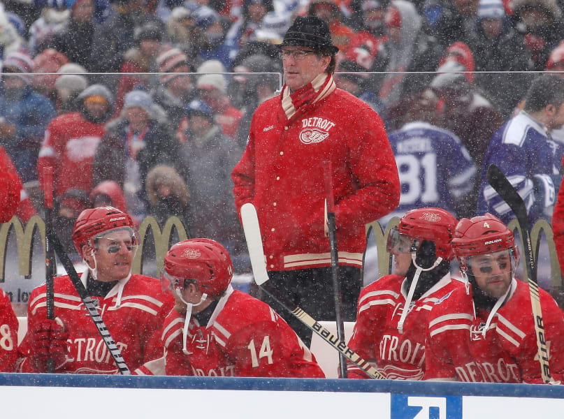 Winter Classic Mike Babcock