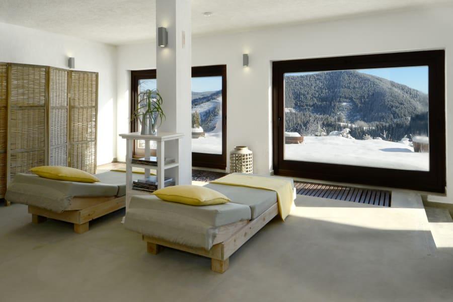 luxury chalets villa gella