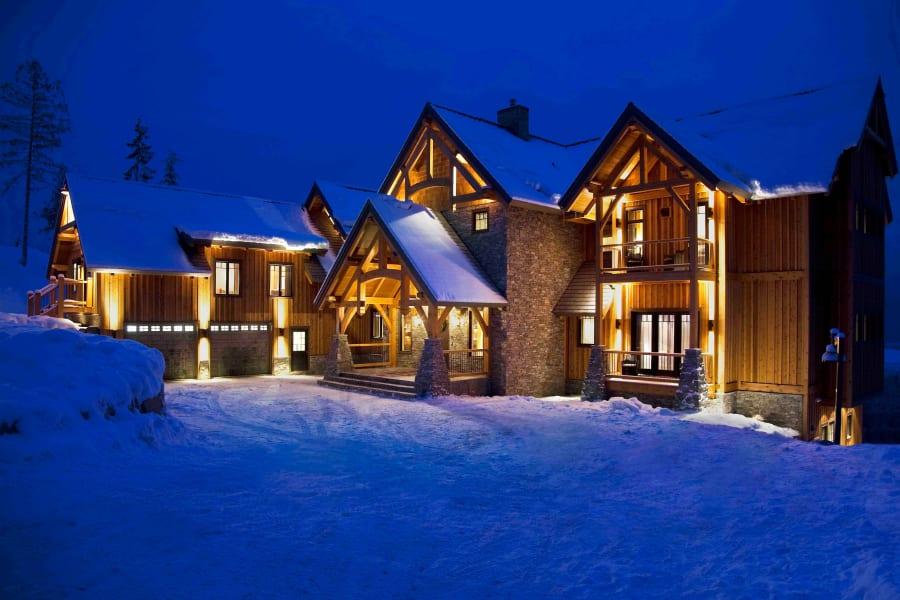 winter luxury bighorn