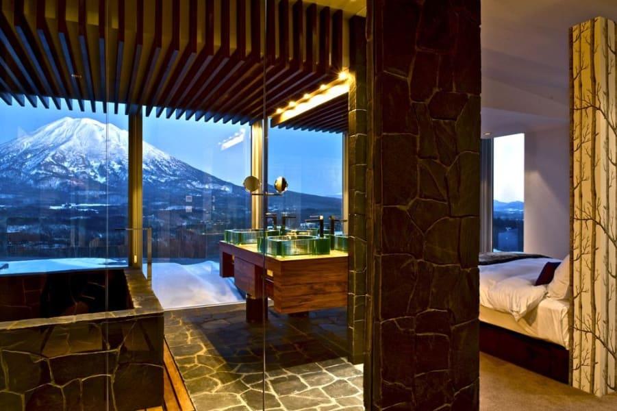 winter luxury vale niseko penthouse