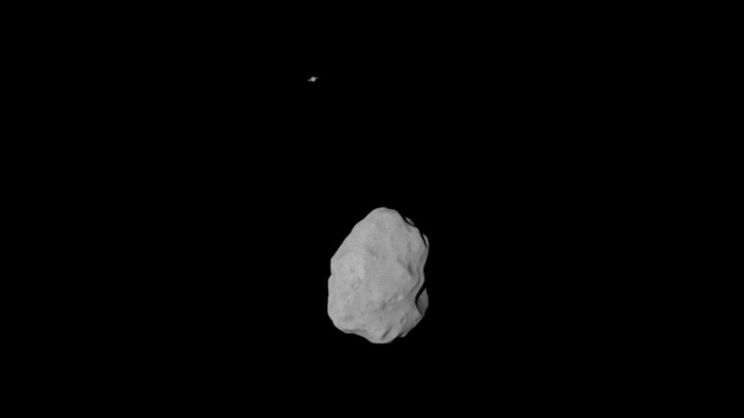 Rosetta Lutetia Saturn