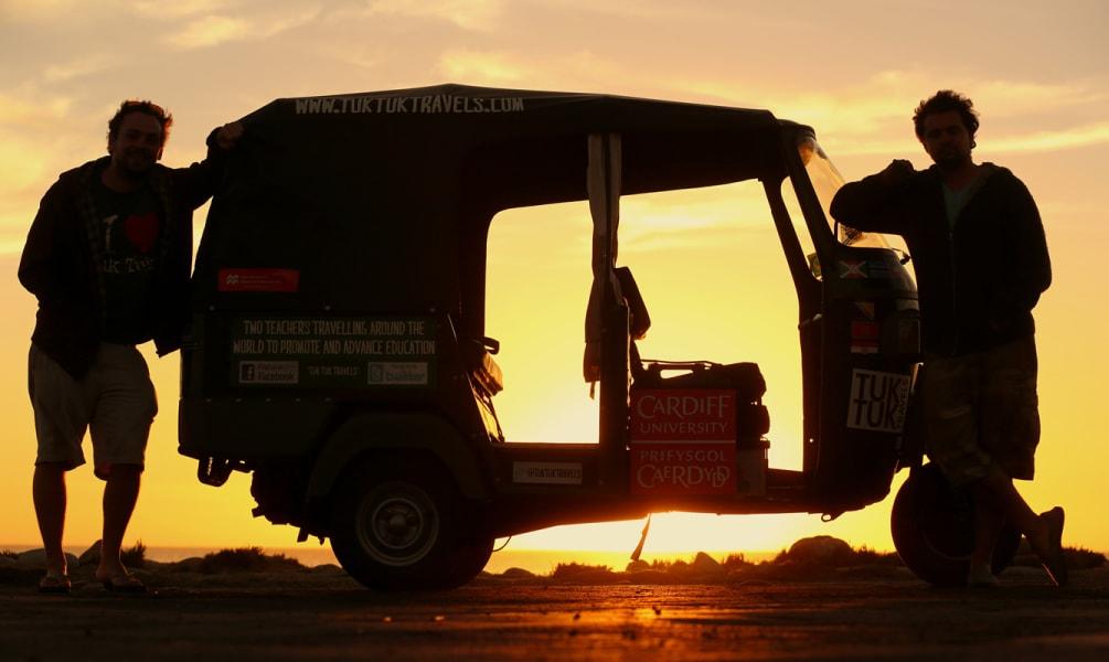 Tuk tuk world tour — Sunset