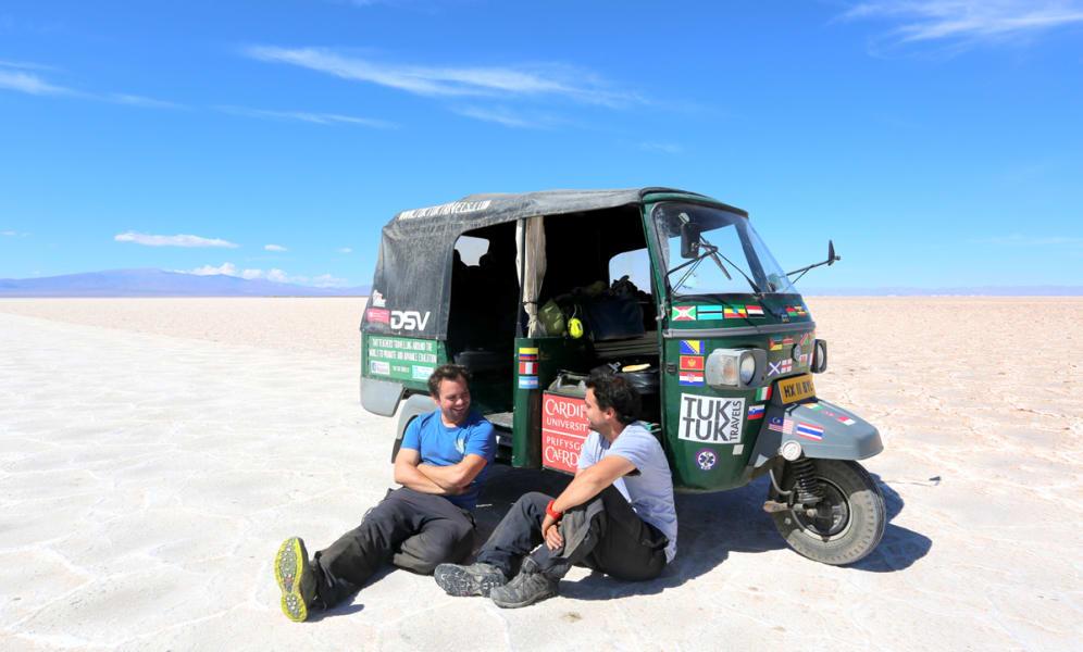 Tuk tuk world tour — Salt Flats