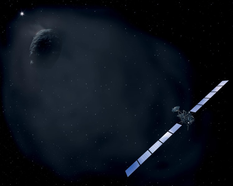 Rosetta hibernation