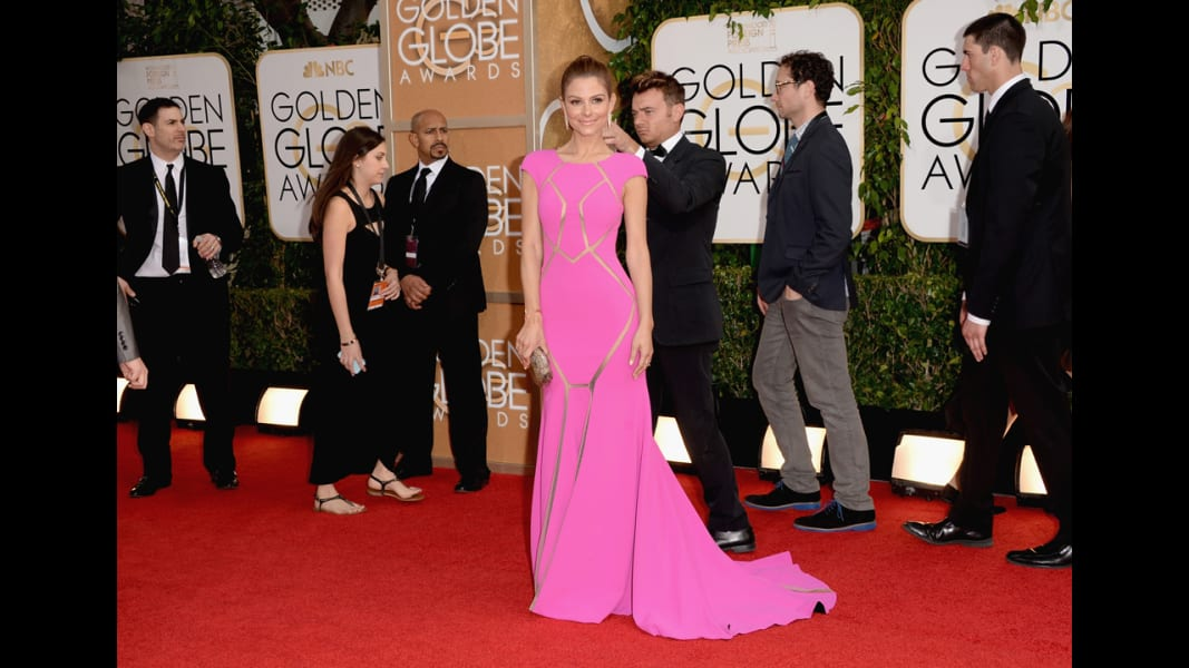02 golden globes red carpet - Maria Menounos