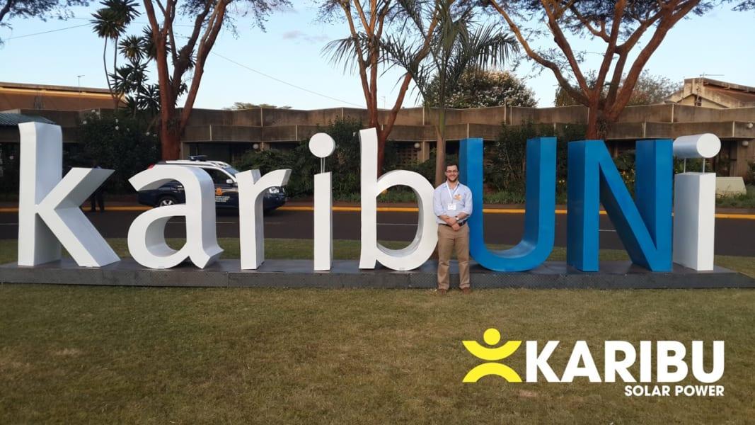 Karibu solar power lamp