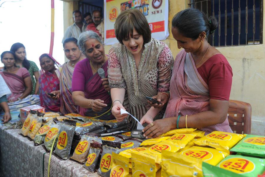Cherie Blair India womens center
