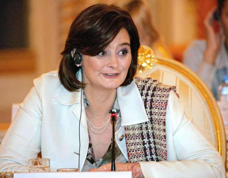 Cherie Blair speech authors russia