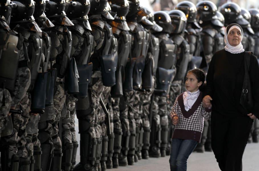 Jordan Arab Spring 2