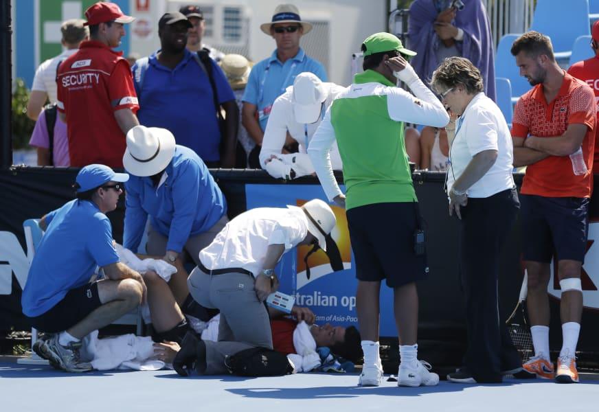 frank dancevic fainting