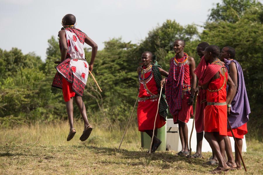 Maasai graduation