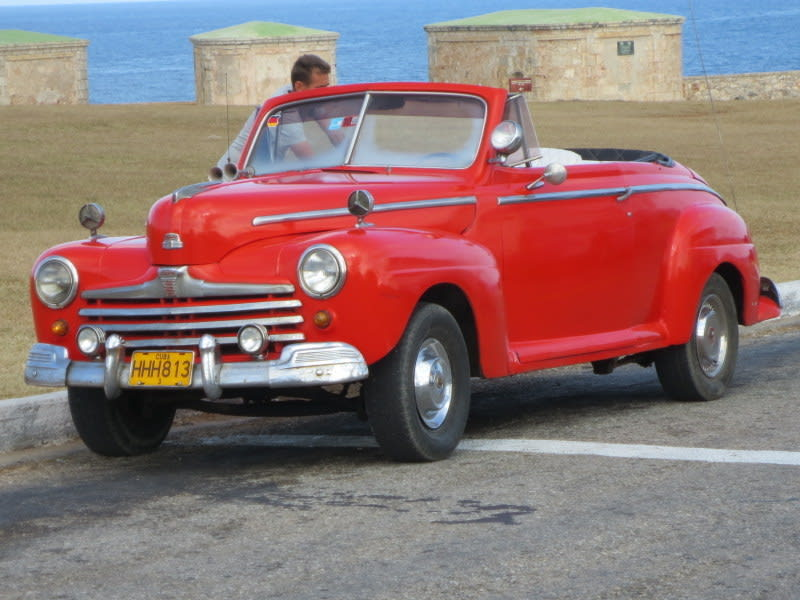Cuba car John Cade