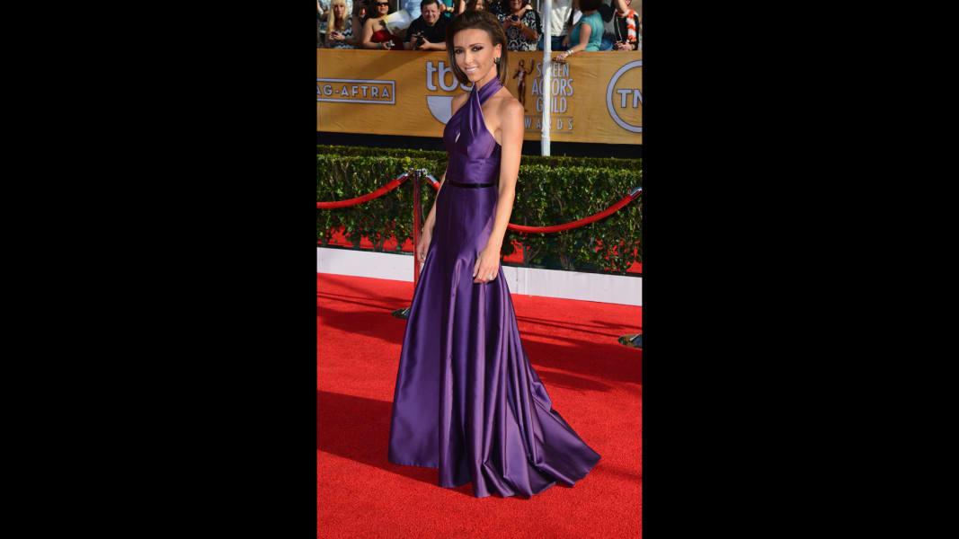 01 sag red carpet - Giuliana Rancic