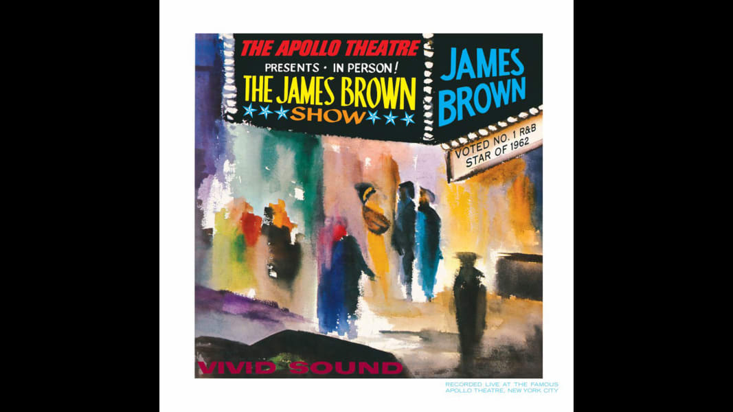 James Brown live album