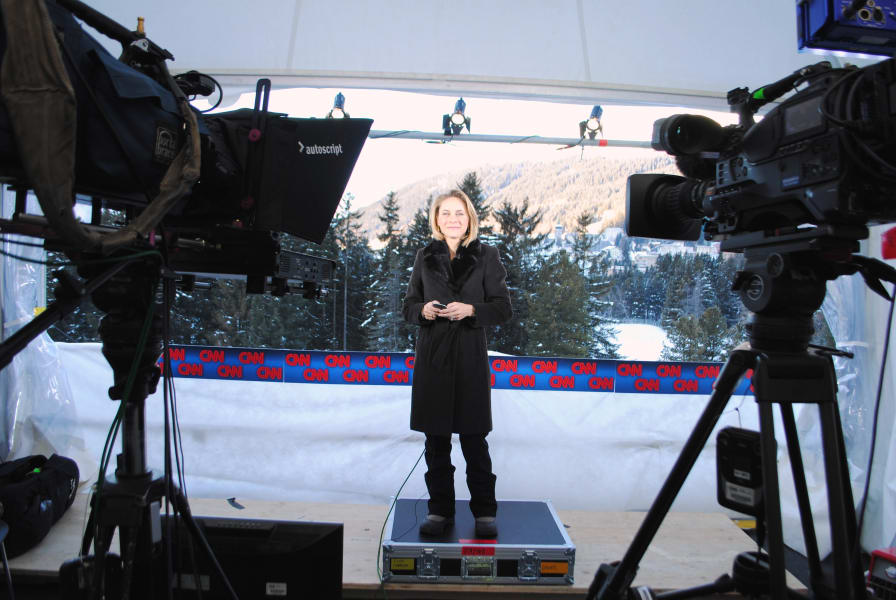Davos Nina on air