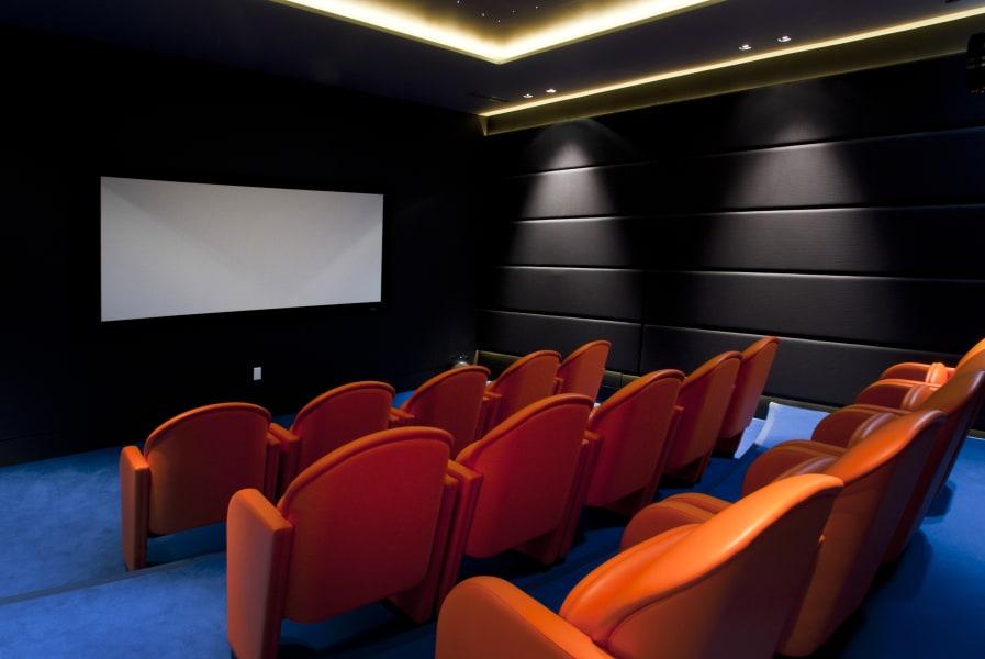 london basement home cinema