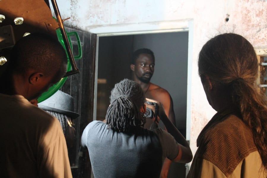 Usoni behind the scenes