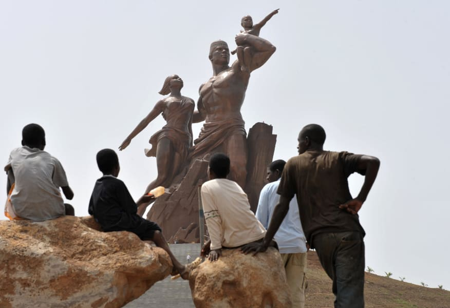 ugly monuments African Renaissance Monument