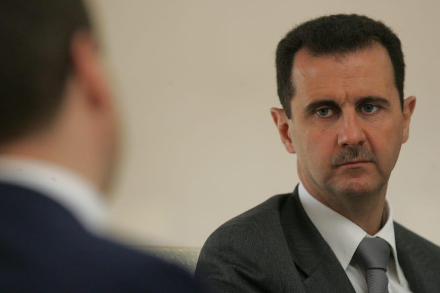 aman bashar al-assad stare syria